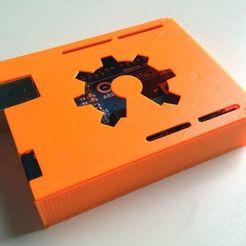Descargar modelos 3D gratis Estuche Slim Arduino Uno, Obenottr3D