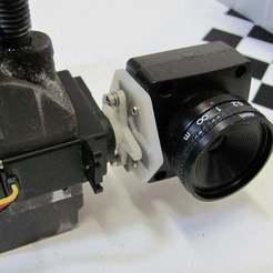 Descargar modelos 3D gratis Soporte para servo cámara pequeña, Obenottr3D
