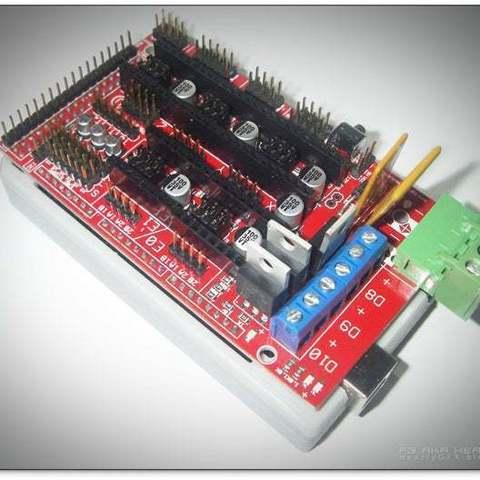 ArduinoMega-box_04_display_large.jpg Télécharger fichier STL gratuit Arduino Mega étui confortable • Plan pour imprimante 3D, Obenottr3D