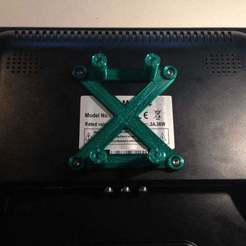 Download free 3D print files VESA mount for RaspberryPi, Obenottr3D