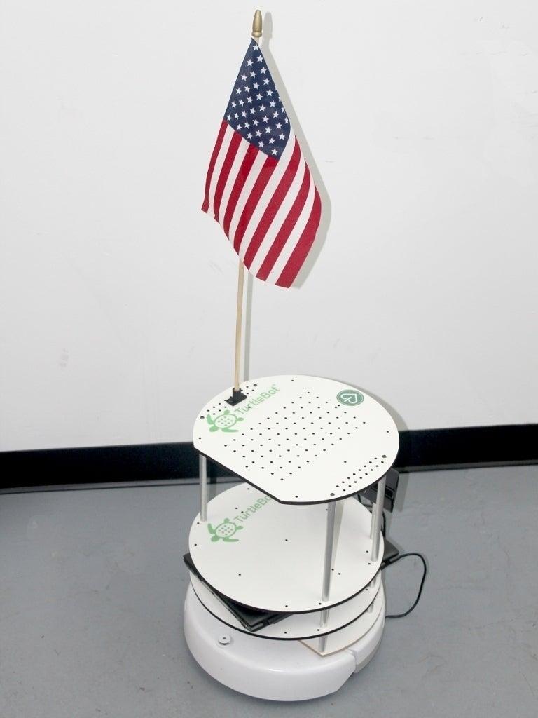 turtlebot_patriot_display_large_display_large.jpg Télécharger fichier SCAD gratuit Support de drapeau pour TurtleBot • Modèle à imprimer en 3D, Obenottr3D