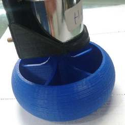 Télécharger fichier imprimante 3D gratuit roue ZGA37RG Support moteur, Obenottr3D