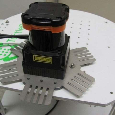 Download free 3D printer designs TurtleBot Hokuyo UTM Mount, Obenottr3D