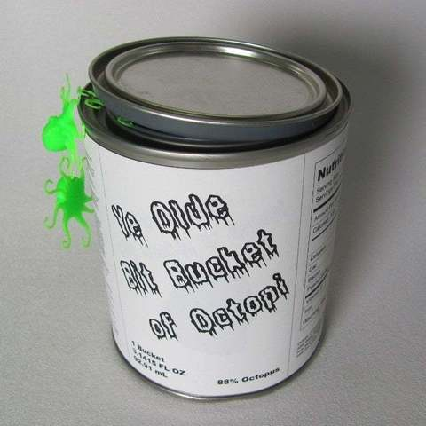 Download free STL file Bucket O' Octopi Packaging, Obenottr3D