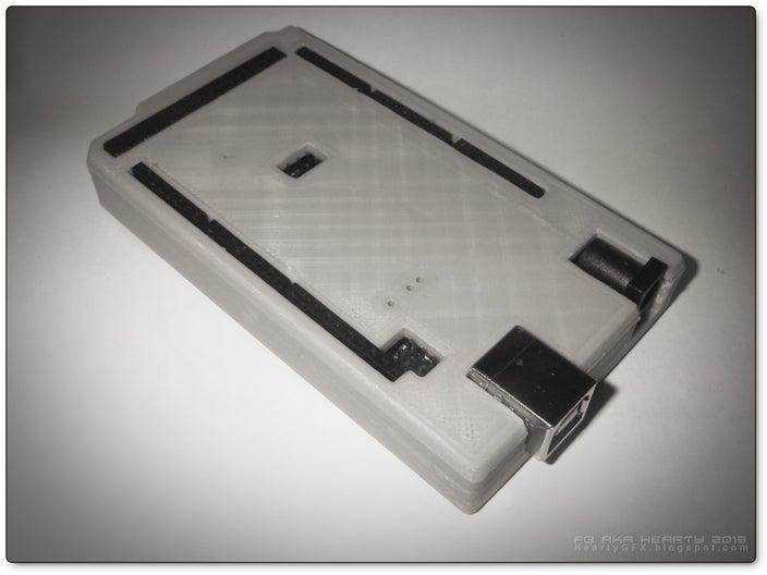 ArduinoMega-box_01_display_large.jpg Télécharger fichier STL gratuit Arduino Mega étui confortable • Plan pour imprimante 3D, Obenottr3D