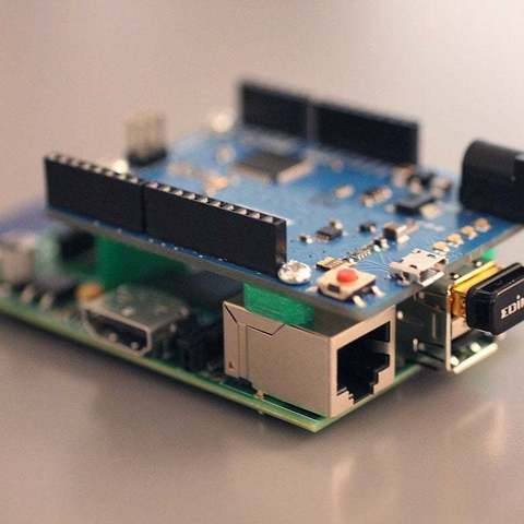Download free 3D printing files Arduino to Raspberry Pi Mount V1.0, Obenottr3D