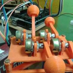 Imprimir en 3D gratis Potenciómetro de joystick, Obenottr3D