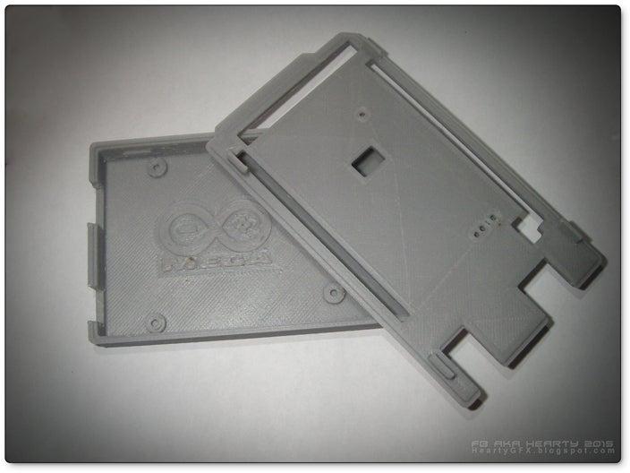 ArduinoMega-box_06_display_large.jpg Télécharger fichier STL gratuit Arduino Mega étui confortable • Plan pour imprimante 3D, Obenottr3D