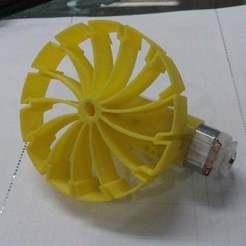 Descargar modelo 3D gratis Robot de rueda de motor especial, Obenottr3D