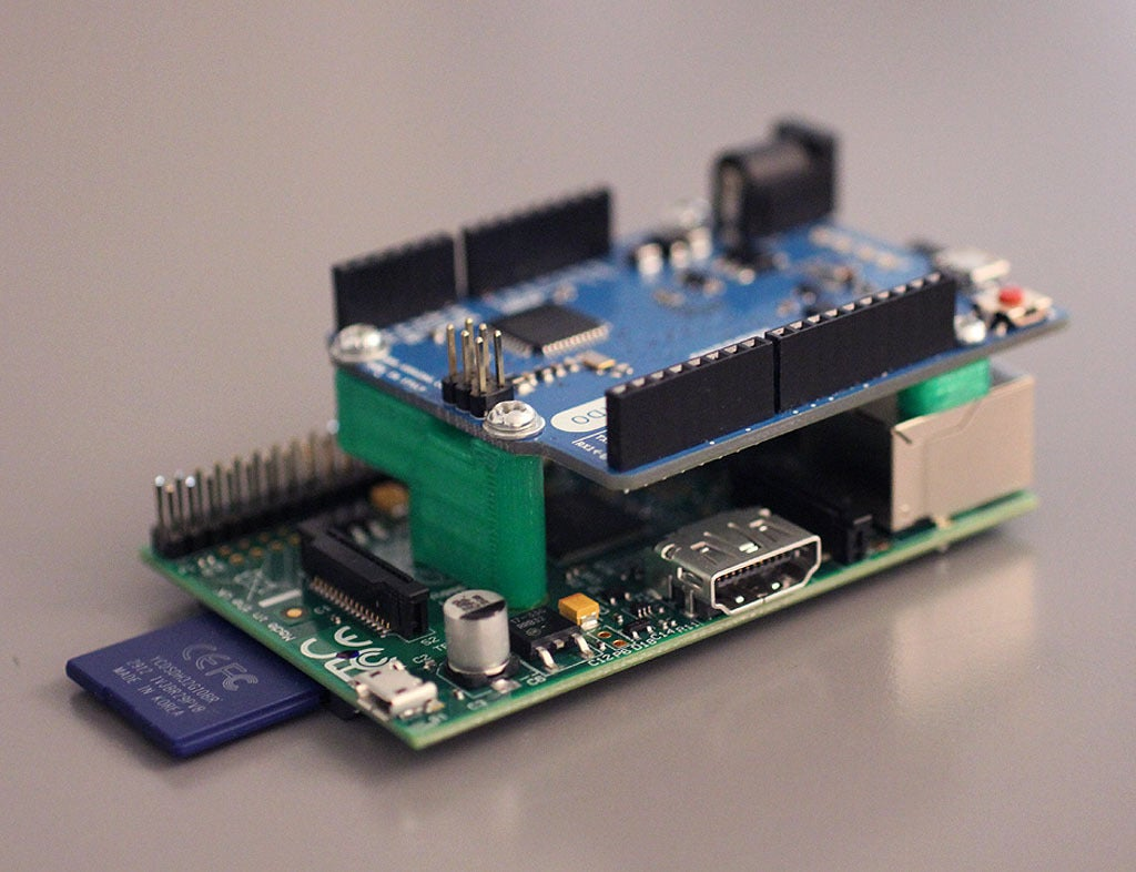 1_display_large.jpg Download free STL file Arduino to Raspberry Pi Mount V1.0 • 3D printable design, Obenottr3D