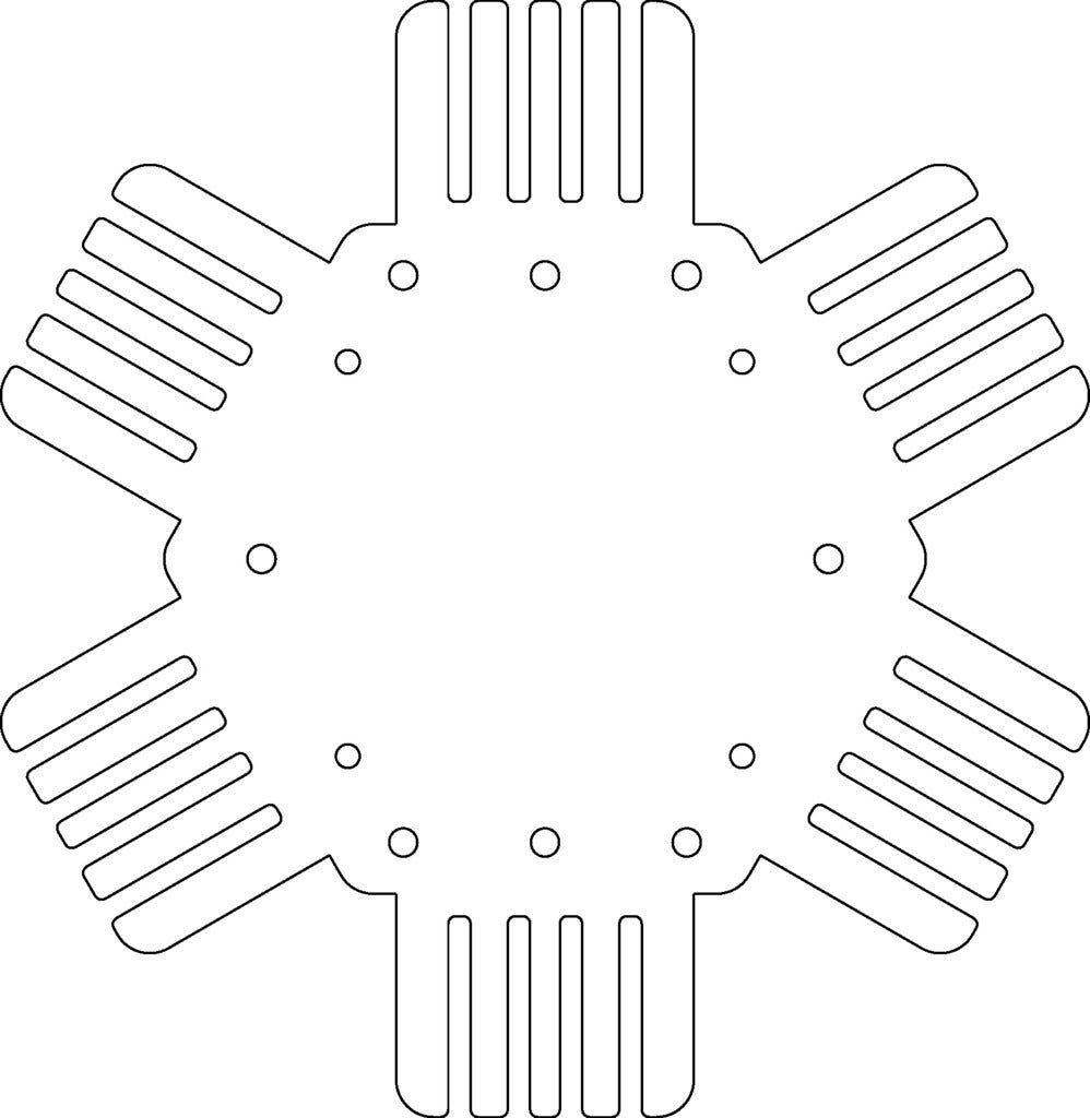 heatsink_utm_display_large_display_large.jpg Download free STL file TurtleBot Hokuyo UTM Mount • 3D print design, Obenottr3D