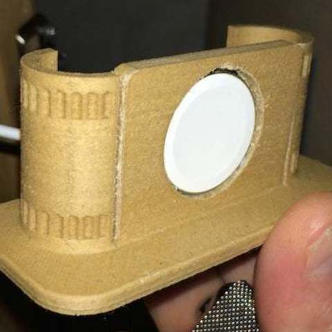 watch_display_large.jpg Download free STL file Apple Watch alarm stand • 3D print model, Obenottr3D
