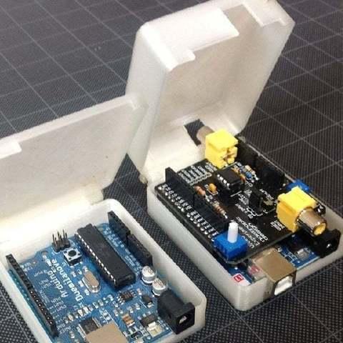 Arduino_casesc_display_large_display_large.jpg Télécharger fichier STL gratuit Cas Arduino • Plan pour imprimante 3D, Obenottr3D