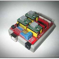 Download free 3D printing files Arduino clone top case, Obenottr3D