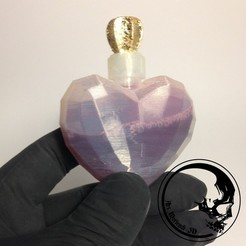 Love_Potion_00.jpg Download free OBJ file Love Potion no. 19 - Valentine's Day 2019 • Object to 3D print, ArsMoriendi3D