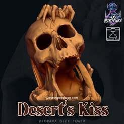 00_Deserts_Kiss_-_Diorama_Dice_Tower.jpg Télécharger fichier STL gratuit Le baiser du désert - Diorama Dice Tower • Objet imprimable en 3D, ArsMoriendi3D