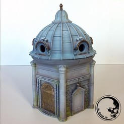 Download free 3D printing designs Dice Mausoleum, ArsMoriendi3D