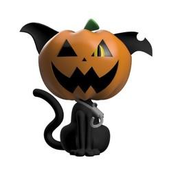 frente 2.jpg Télécharger fichier STL Pumpcat - chat citrouille • Modèle à imprimer en 3D, jayceedante