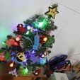 IMG_0693.JPG Download STL file Christmas tree decoration (retro game edition) • 3D printable template, jayceedante
