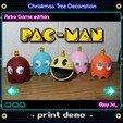 Print demo 2 Ready.jpg Download STL file Christmas tree decoration (retro game edition) • 3D printable template, jayceedante