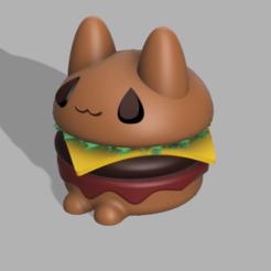 Descargar modelos 3D Michiburger :3 (catburger), jayceedante