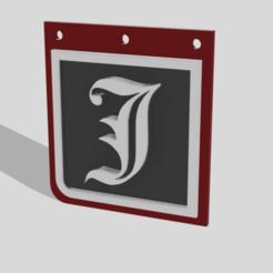 llavero jay3d v1 2.png Télécharger fichier STL gratuit Porte-clés Jay3d avec QR • Modèle imprimable en 3D, jayceedante
