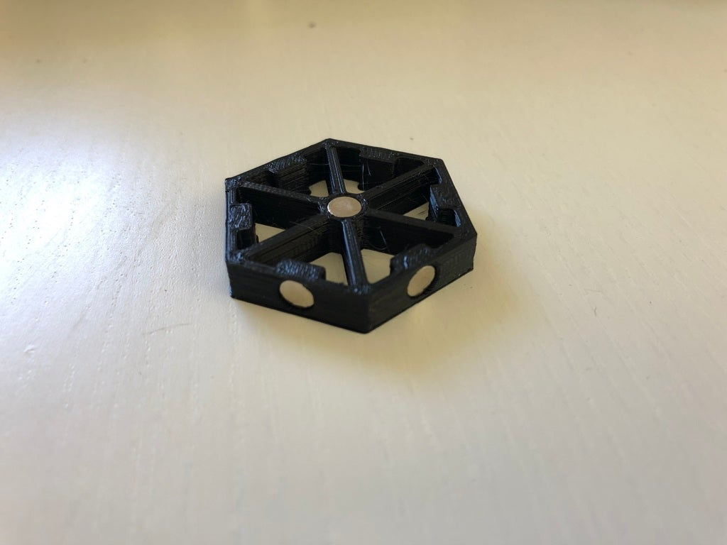 80687379d3a68339fd473eb483ef019d_display_large.JPG Download free STL file Magnetic Hex connector for Axolote Hex • Model to 3D print, Gronis