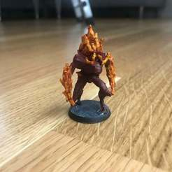Download free STL file Gloomhaven Flame Demon • 3D printable design, Gronis