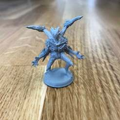 Download free 3D printer designs Gloomhaven Night Demon, Gronis