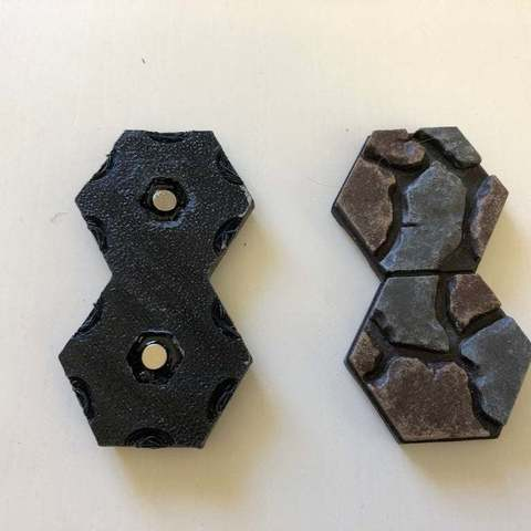 25c6c688858df70c7020f7cf85511d67_display_large.JPG Download free STL file Magnetic Hex connector for Axolote Hex • Model to 3D print, Gronis
