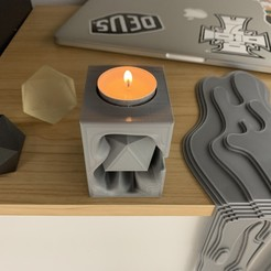 Download 3D printing models Tealight holder , TITAN_CORPORATION