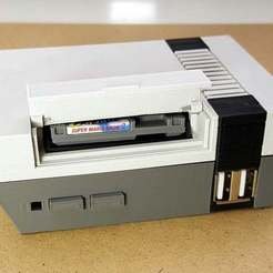 Descargar modelo 3D gratis Mini NES Frambuesa Pi Case, Aralala