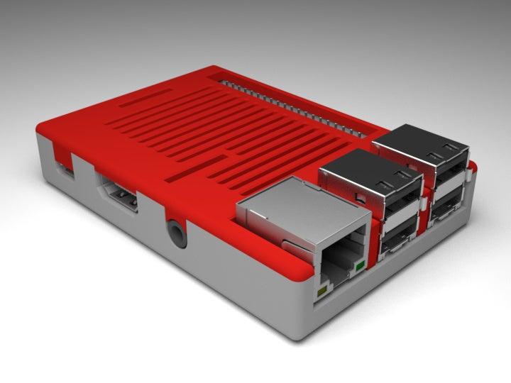 3f0ea26fc4ad1b1253f3f34d94c63e84_display_large.jpg Download free STL file Raspberry Pi Snug Case • 3D printable design, Aralala