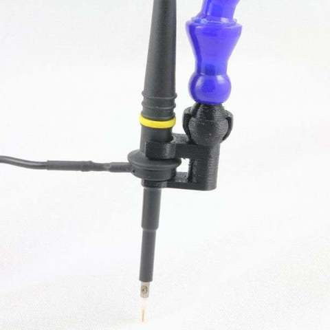 Download free STL Oscilloscope Probe Holder, Aralala