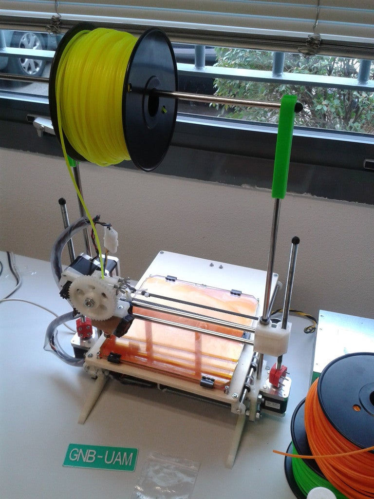 20130213_134317_display_large.jpg Download free STL file Printrbot Spool Holder • Object to 3D print, Aralala