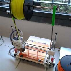Download free STL files Printrbot Spool Holder, Aralala