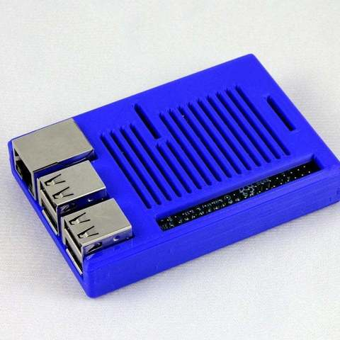 Download free 3D printing files Raspberry Pi Snug Case, Aralala