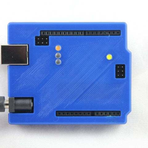 IMG_2458_display_large.JPG Download free STL file Arduino Uno Snug Case • 3D printing object, Aralala