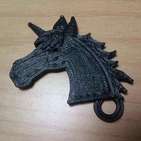 Download free 3D model Unicorn keychain, Aralala