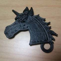 Download free 3D model Unicorn keychain, Aralala
