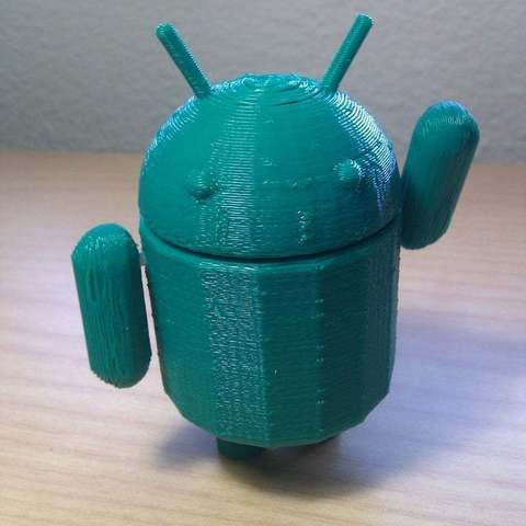 Download free 3D printing templates Better-hinged Google Android, Aralala