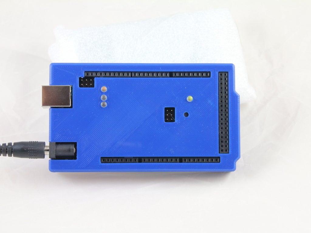 WHITE_RESIZE_IMG_2572_display_large.JPG Download free STL file Arduino Mega 2560 Snug Case • 3D printer design, Aralala