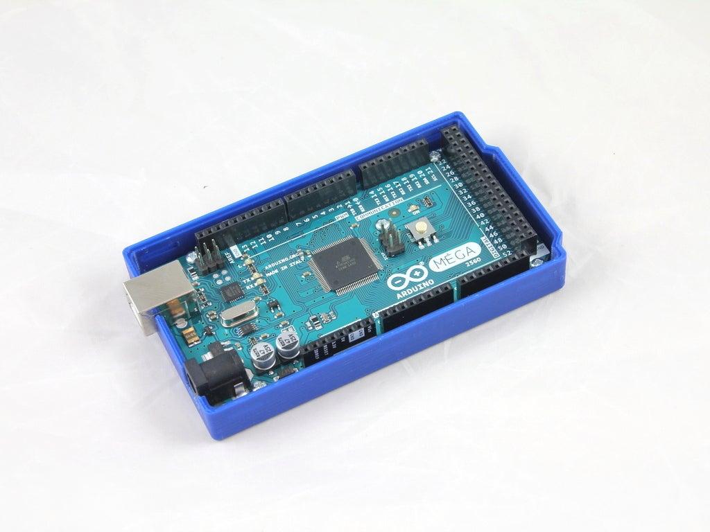 WHITE_RESIZE_IMG_2557_display_large.JPG Download free STL file Arduino Mega 2560 Snug Case • 3D printer design, Aralala