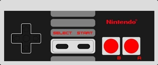 NES_sticker_display_large_display_large.jpg Download free STL file Printable NES controller • 3D print object, Aralala
