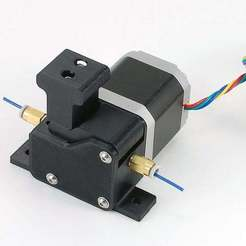 Download free 3D printing templates The Phantom Edit - MK8 Direct Drive Bowden Extruder for 1.75mm Filament, Aralala