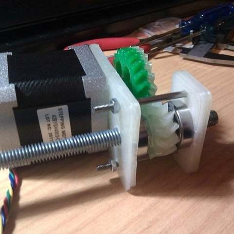 Télécharger fichier imprimante 3D gratuit Concept d'actionneur linéaire pour machines CNC, Aralala