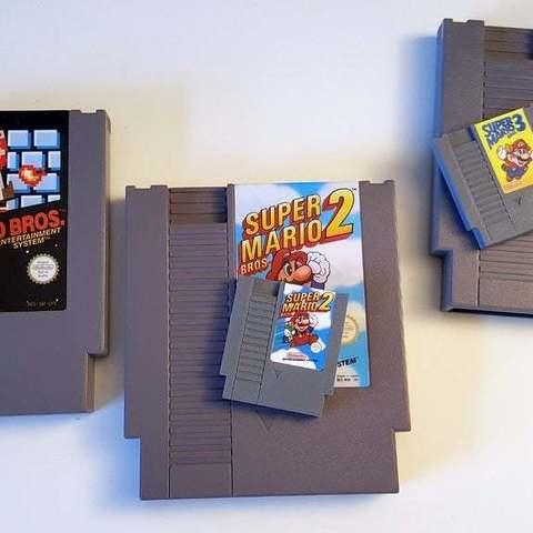 Descargar Modelos 3D para imprimir gratis Mini Cartucho NES, Aralala