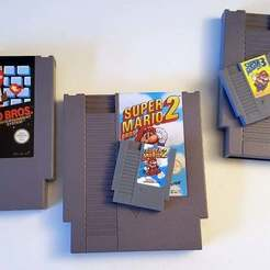 Download free 3D printing files Mini NES Cartridge, Aralala