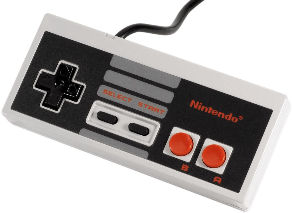 NES-controller_display_large_display_large.jpg Download free STL file Printable NES controller • 3D print object, Aralala