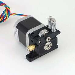Download free 3D model Compact Direct Drive MK8 Bowden Extruder for 1.75mm Filament, Aralala